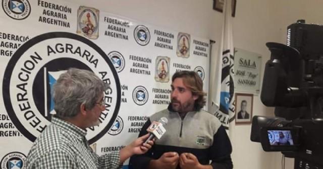 Sebastián Campo, titular de la FAA Pergamino.