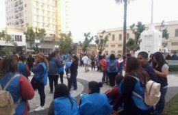 Manifestación en Plaza Merced.