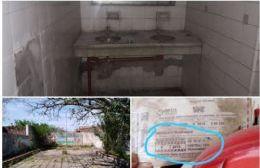 Aulas destruidas, humedad en paredes, falta de pintura, falta de iluminación, el patio abandonado, son algunos de los problemas en la escuela.