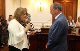 Teresa Antonia Caldentey llegó al Concejo Deliberante representando a lo Coalición Cívica en el bloque de Cambiemos.