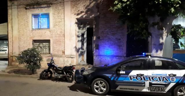 Una detención y droga secuestrada en Rojas