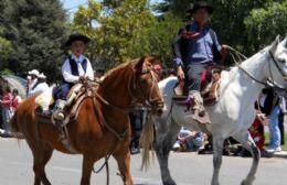 Tradicional desfile.