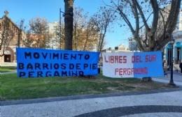 Barrios de Pie y Libres del Sur se suman a la protesta a nivel nacional
