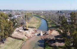 Se demolió el puente de Boulevard Colón