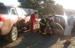 Importante accidente de tránsito en la Ruta 8 dejó tres heridos en Arrecifes