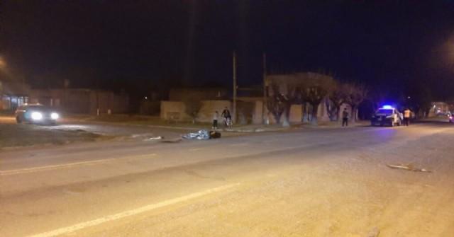 Accidente en Ruta 188: Joven motociclista gravemente herido