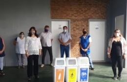 La Casa del Niño de Urquiza recibió las islas de separación de residuos