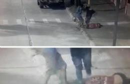 Terrible golpiza de dos menores al malabarista Ramón Pereyra