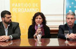Anuncio de la ministra Ortiz (foto de archivo).
