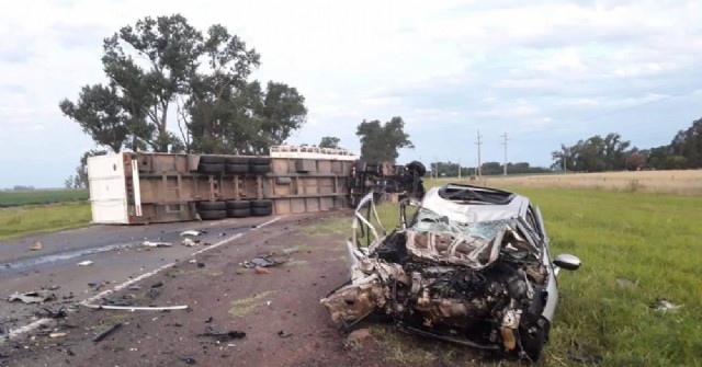 Accidentes: Una víctima fatal y varios heridos