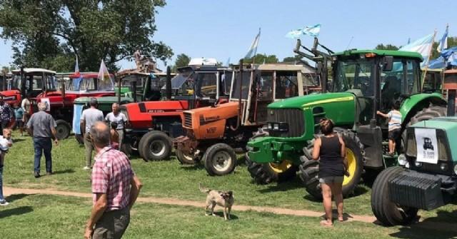 Marcha de protesta y asamblea de productores rurales