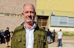 Ignacio Maiztegui votó y esperará junto a su familia