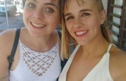 Eugenia Leit y Josefina Carricart, de 19 años, estaban de viaje por Bolivia.