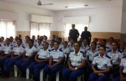 Los efectivos de la Policía Local, próximos a desempeñarse en Pergamino.