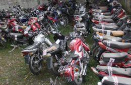 Aprobaron el traspaso de las motos inutilizables para la Escuela de Artes