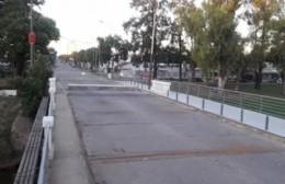 Se inauguró el puente provisorio
