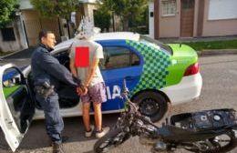 Eficaz intervención policial.