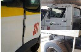 Muchos de los vehículos que se utilizan para juntar los residuos tienen algunos desperfectos por falta de control y mantenimiento.