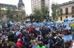 """Macri en Pergamino: """"Hoy estoy acá para decirles que ustedes no están solos"""""""