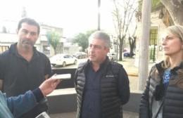 """Javier Martínez: """"Juntos tiene que seguir trabajando en forma mancomunada"""""""