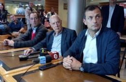 """Roberto Lavagna en Pergamino: """"Llevamos ocho años de estancamiento"""""""