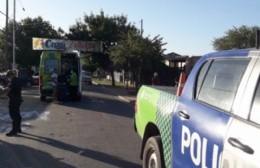 Una nena resultó herida tras ser atropellada por una moto