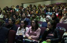 El encuentro tuvo lugar en el Teatro Unión Ferroviaria.