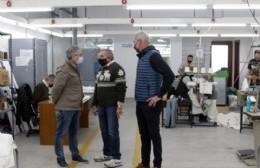 Rumbo a las PASO, Martínez acompañó a Maiztegui en una recorrida con empresarios locales