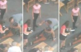 Un campeón de karate atrapó a un ladrón de zapatillas y evitó que lo linchen