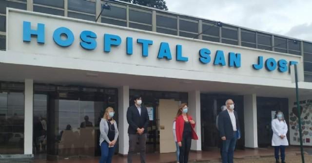Cambio de autoridades en el Hospital San José